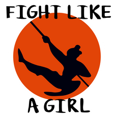 Fight Like a Girl Sticker