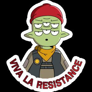 Final Space Tribore Viva La Resistance