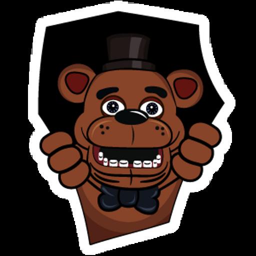 Five Nights at Freddys Freddy Fazbear Sticker