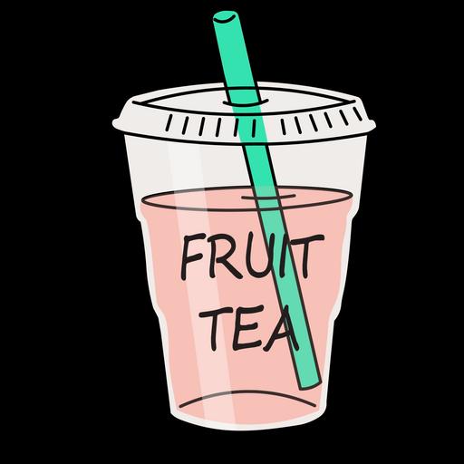 Fruit Tea Sticker