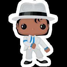 Funko Pop Michael Jackson (Smooth Criminal) Sticker