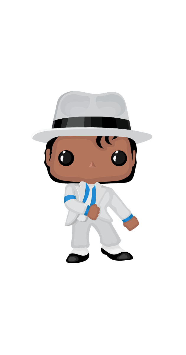 Funko Pop Michael Jackson (Smooth Criminal) Sticker