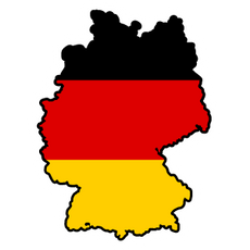 Germany Country Flag Sticker
