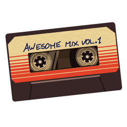 Guardians Of The Galaxy Awesome Mix Vol 1 Sticker