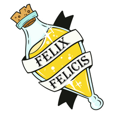 Harry Potter Felix Felicis Potion Sticker