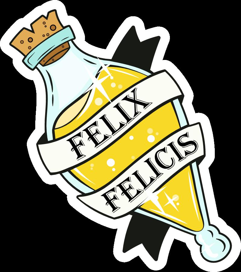 Harry Potter Felix Felicis Potion Sticker