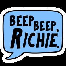 It Pennywise Beep Beep Richie Sticker