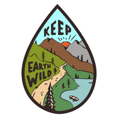 Keep Earth Wild Sticker