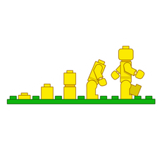 Lego Evolution Sticker