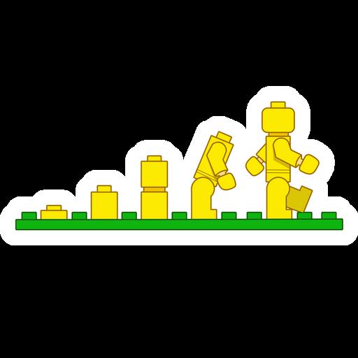 Lego Evolution Sticker
