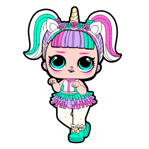 LOL Doll Unicorn