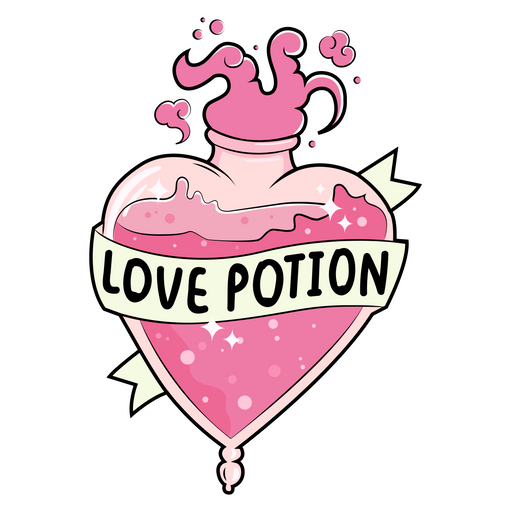 Love Potion Sticker