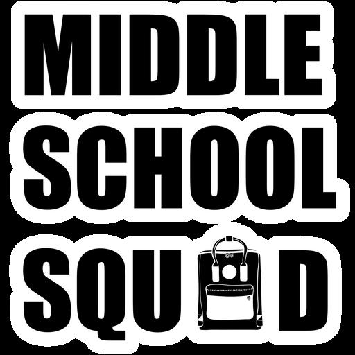 Middle School Squad Sticker