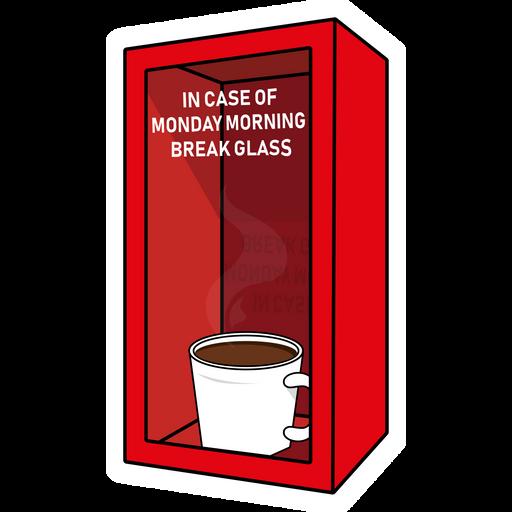 Monday Morning Emergency Box Sticker