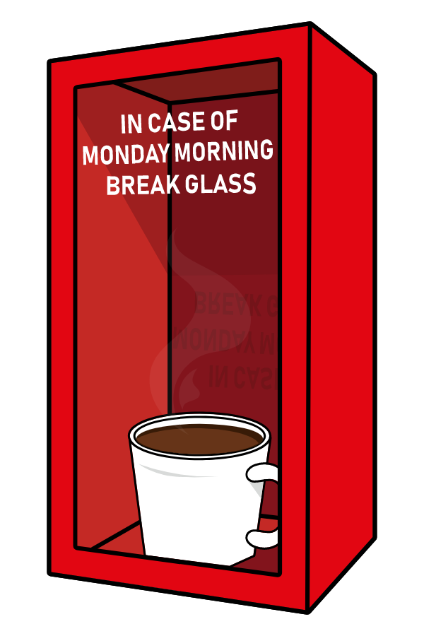 Monday Morning Emergency Box Sticker