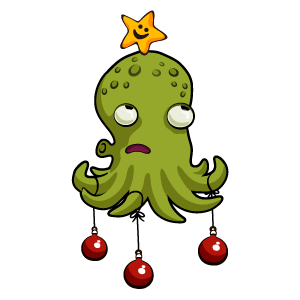 Octopus Christmas Tree