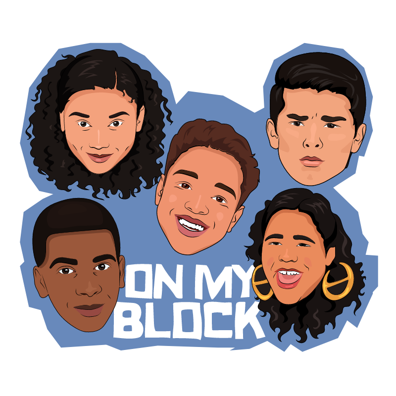 On My Block Sticker