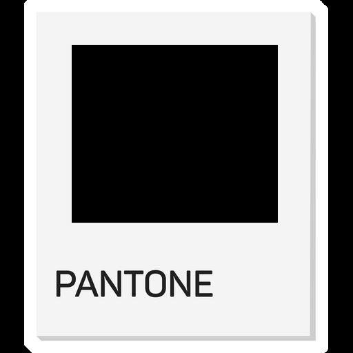 Pantone Color Card Sticker