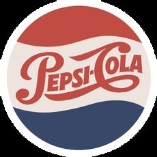 Pepsi Cola Vintage Logo Sticker