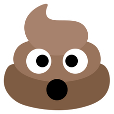 Pile of Poo Emoji Sticker