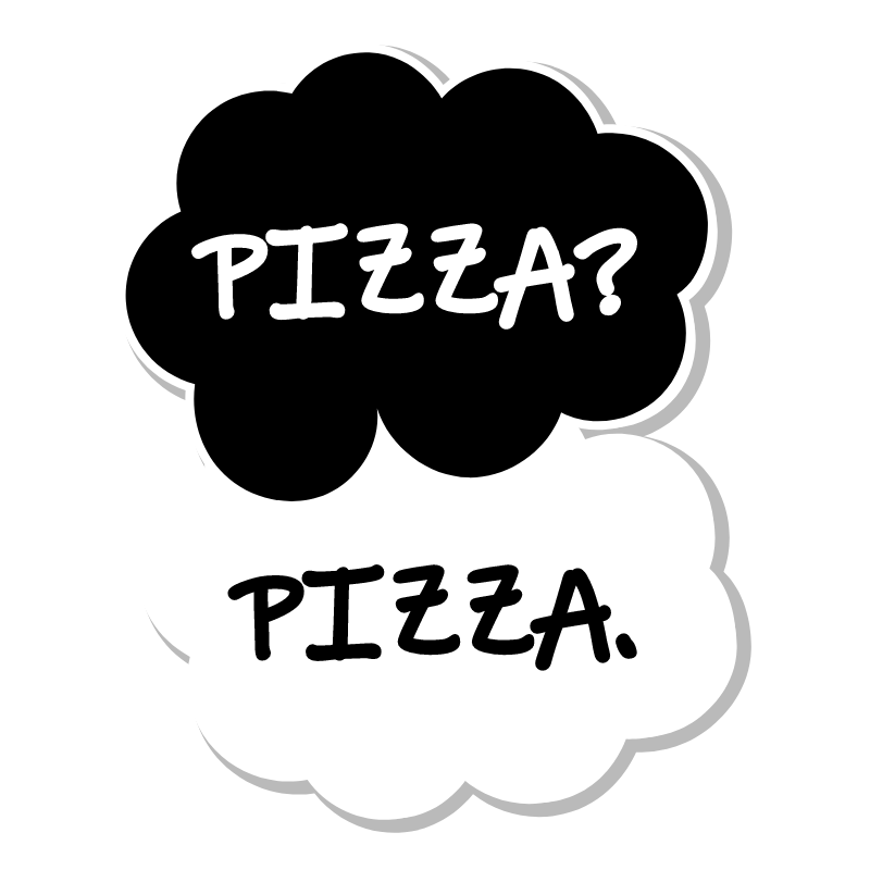 Pizza? Pizza Sticker