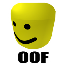 Roblox Noob Head Oof Sticker