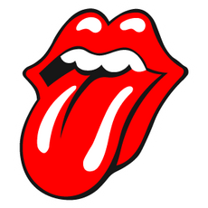 Rolling Stones Logo Sticker