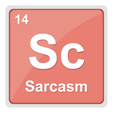 Sc the Element of Sarcasm Sticker
