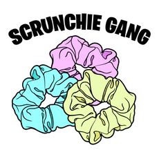Scrunchie Gang Sticker
