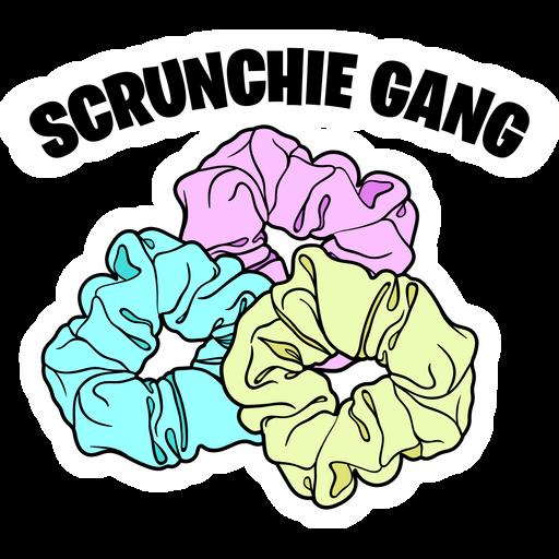 Scrunchie Gang Sticker