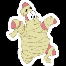 SpongeBob Patrick Star Mummy