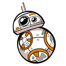 Star Wars BB-8 Sticker