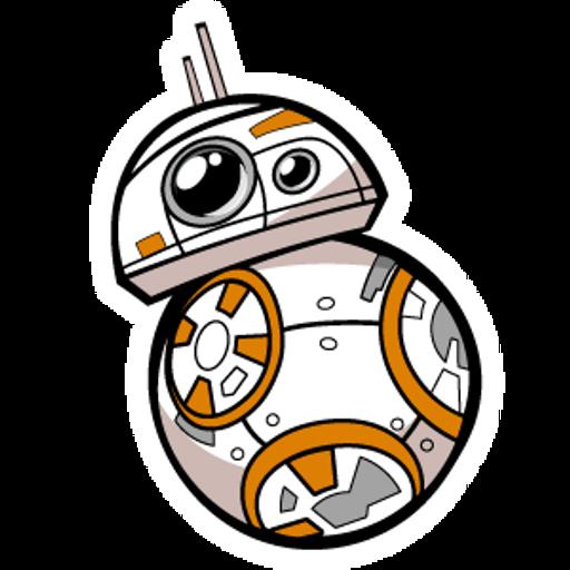 Star Wars BB-8 Sticker