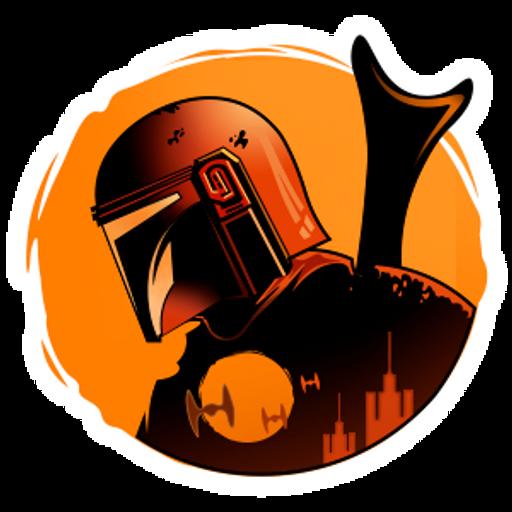 Star Wars the Mandalorian Sticker