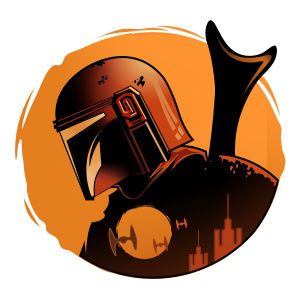 Star Wars the Mandalorian Sticker