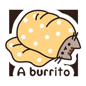 Burrito Pusheen
