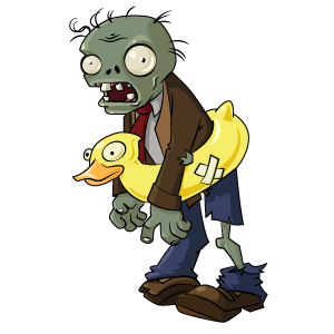 Plants vs Zombies Ducky Tube Zombie