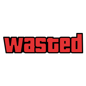 Wasted Red GTA