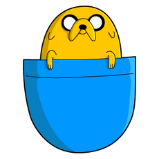 Adventure Time Pocket Jake