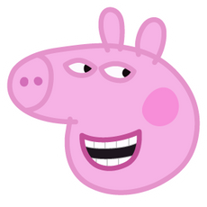 Cunning Peppa Pig