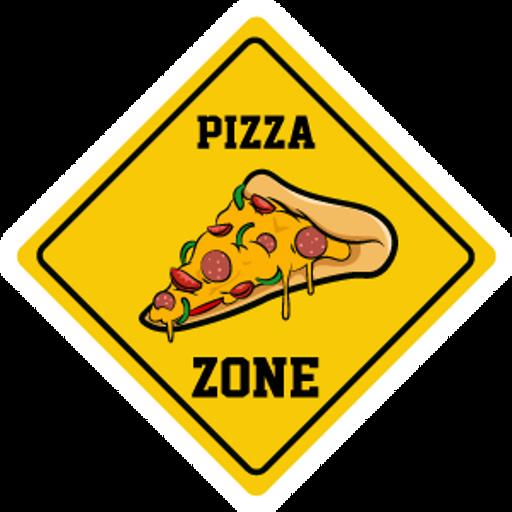 Pizza Zone Sign Sticker