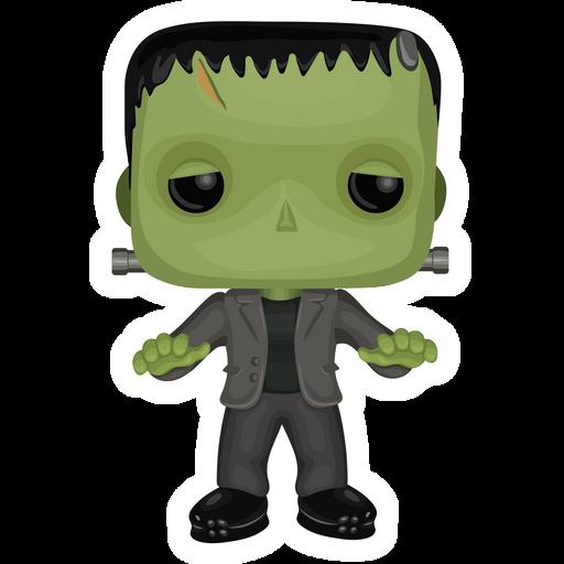 Funko Pop Frankenstein Figure Sticker