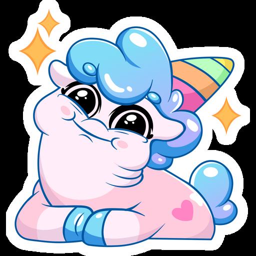 Little Sweety Unicorn Sticker