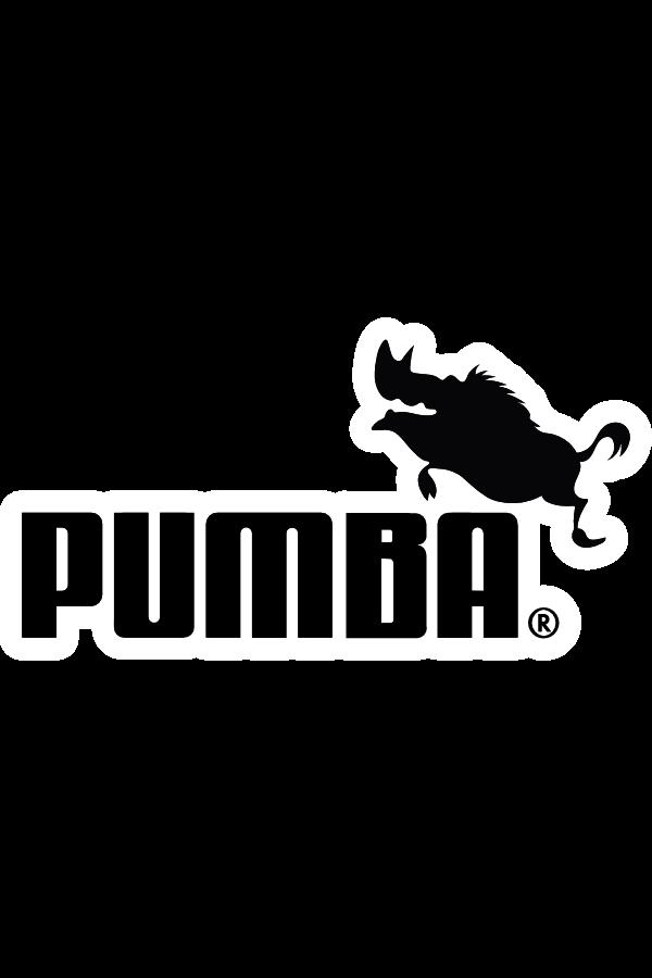 PUMBA PUMA Logo Style Sticker