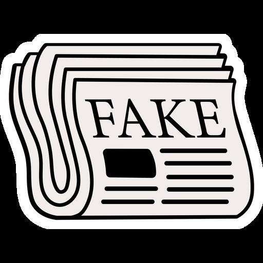 Fake News Sticker