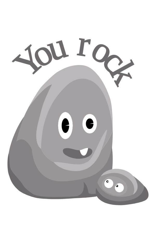 Rock - You Rock Sticker