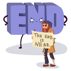 The End is Near Sticker