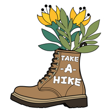 Take a Hike Sticker