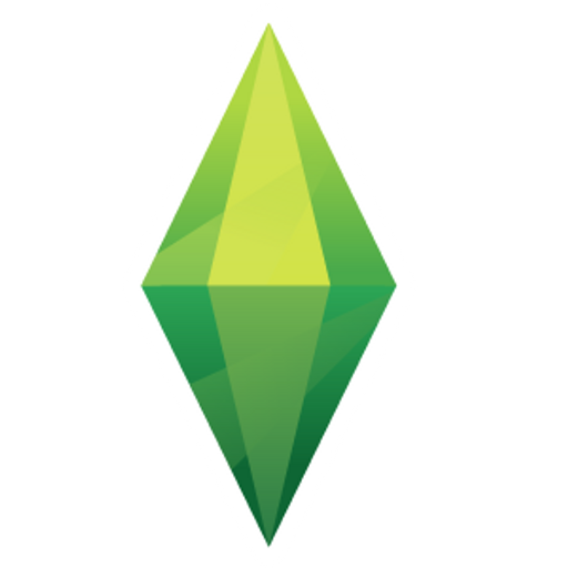The Sims Green Plumbob Sticker