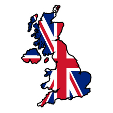 United Kingdom Country Flag Sticker